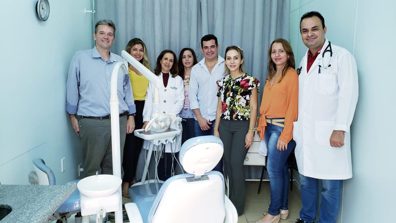 Por meio de doações, HRG inaugura consultório odontológico para atender pacientes internados