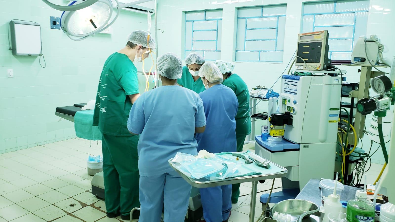 """25 crianças são atendidas com cirurgias no HRG durante o mutirão """"Opera Tocantins"""""""
