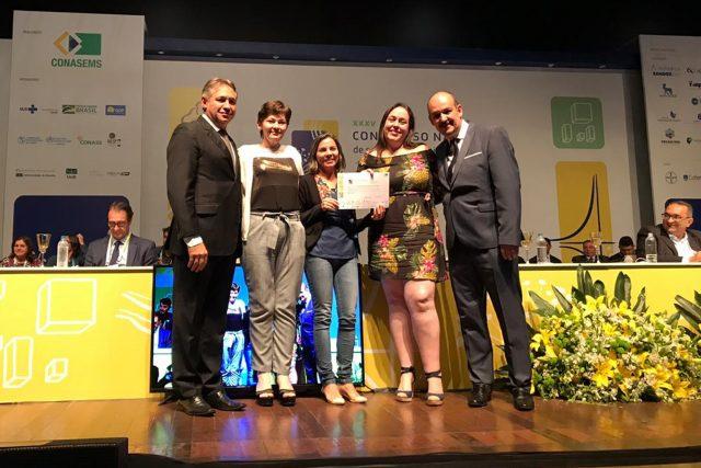 Projeto de Guaraí é reconhecido como melhor experiência do Tocantins em evento nacional de saúde