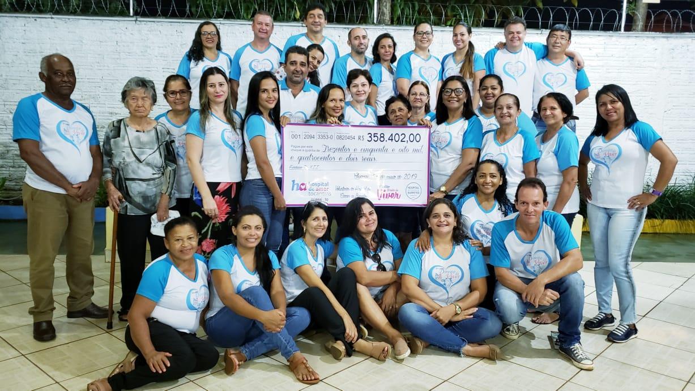 Com doações extras, balanço de leilão em prol do Hospital do Amor é finalizado em Guaraí