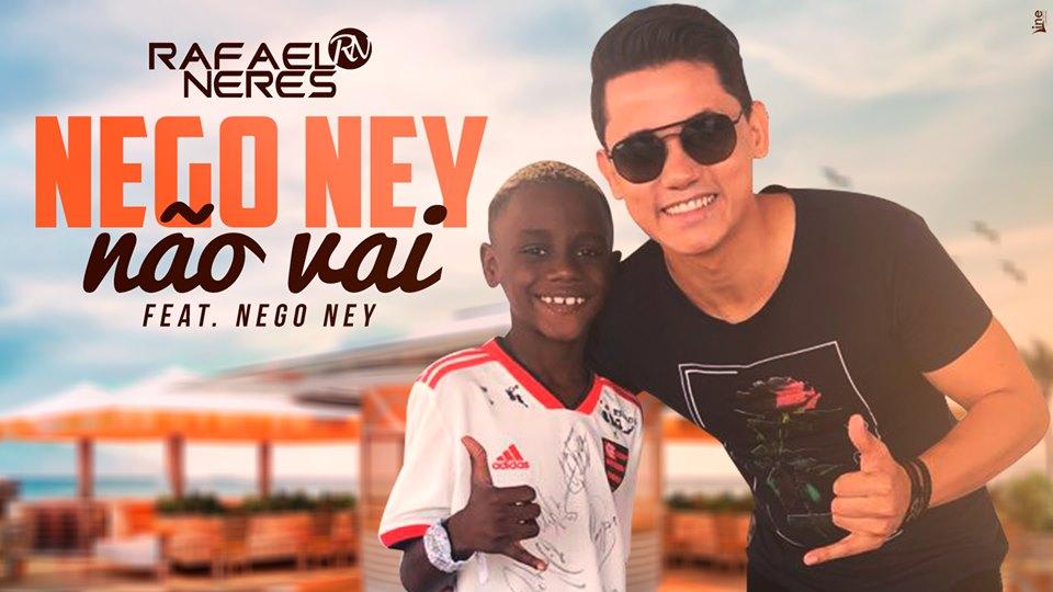 Cantor que iniciou carreira em Guaraí lança clipe com Nego Ney, xodó da torcida do Flamengo