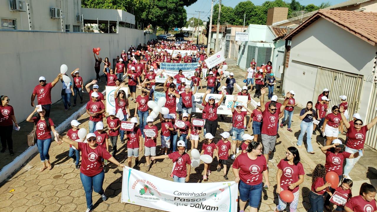 Caminhada Passos que Salvam do Hospital de Amor (HA) arrecada quase R$ 100 mil em Guaraí
