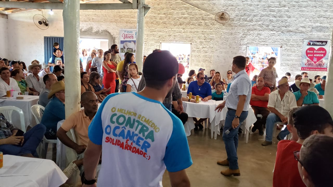5º leilão Direito de Viver de Guaraí arrecada mais de R$ 355 mil para o Hospital de Amor